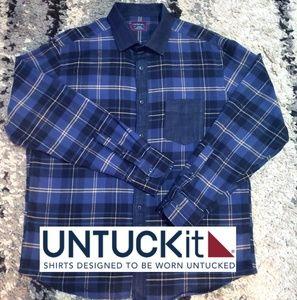 UNTUCKit casual / dress button up shirt